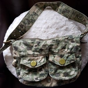 Gap floral camo purse